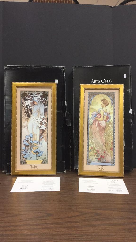 Goebel Artis Orbis Alphonse Mucha Limited Edition