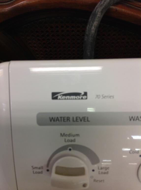 Kenmore 70 Series Washing Machine Working