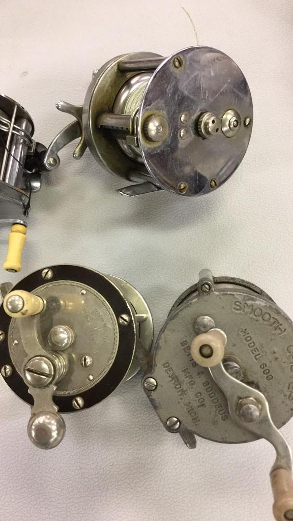 Selection of vintage fishing reels south bend for South bend fishing reel