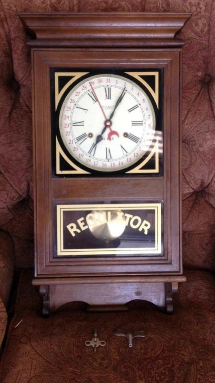 Legant Regulator 31 Day Wall Clock With Pendulum