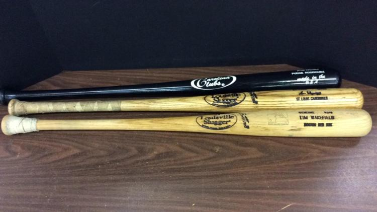 New Texas Rangers Pudge Rodriguez Bat, St.