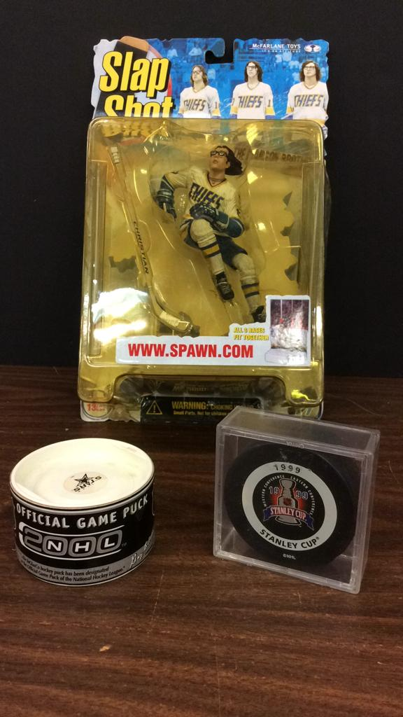 Dallas Stars NHL Official Game Puck, 1999 NHL