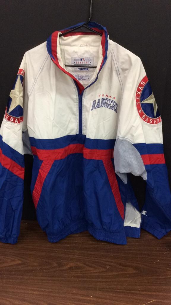 Texas Rangers Starter Size XL Jacket