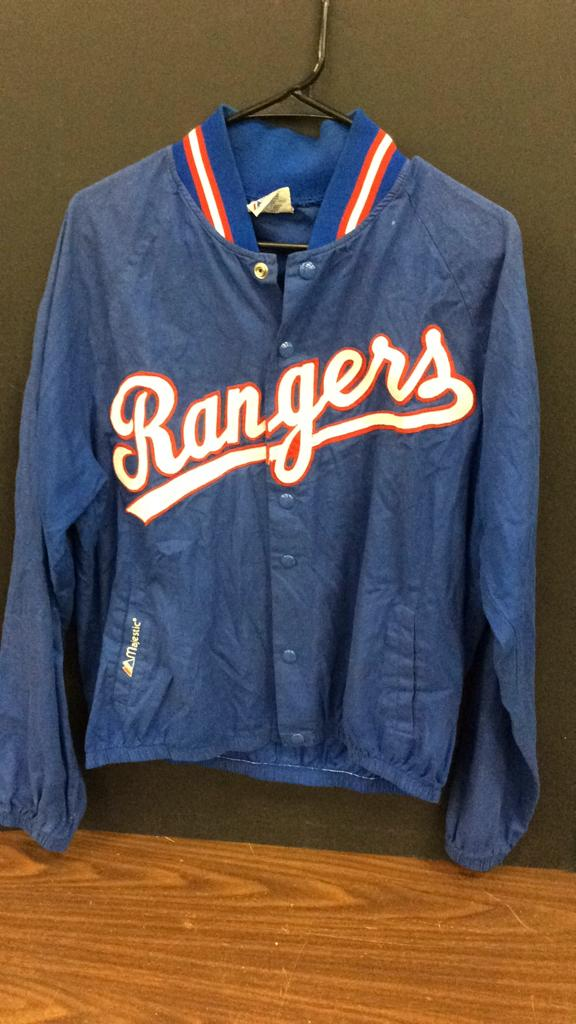 Texas Rangers Majestic Size Large Said To Be Game