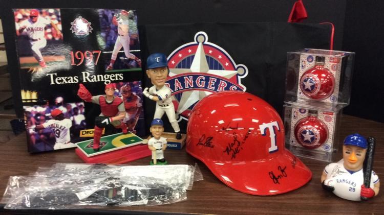 Texas Rangers Memorabilia-Includes A.L. Western