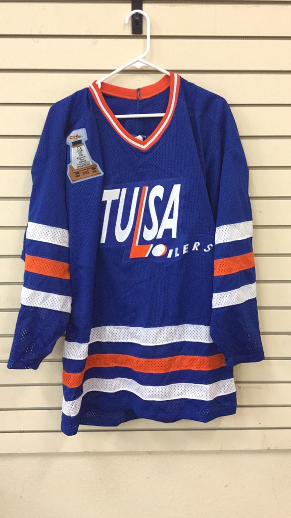CHL Tulsa Oilers hockey jersey size 48
