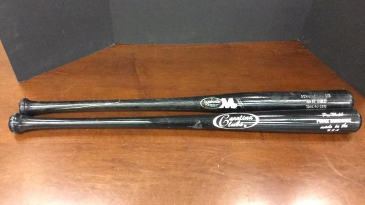 Texas Rangers Nate Gold said to be game used bat