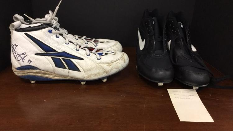 Dallas Cowboys Greg Ellis #98 signed game worn