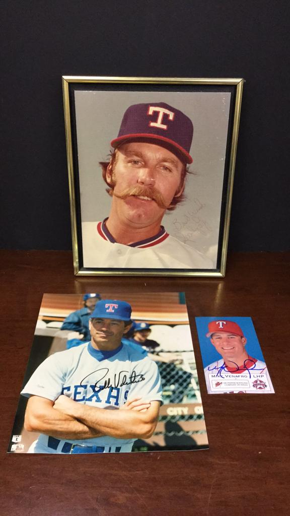 Texas Rangers canvas Sparky Lyle, Bobby