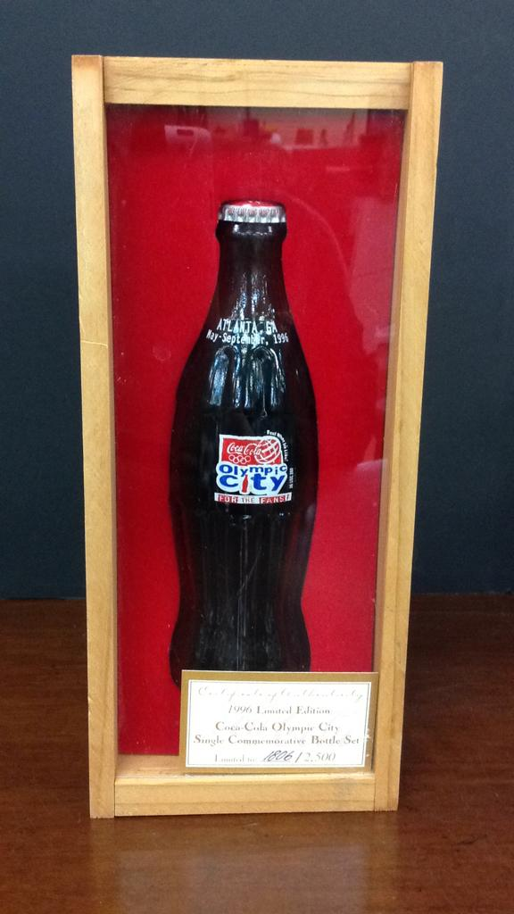 Coca Cola 1996 Limited Edition 1806/2500 Olympic