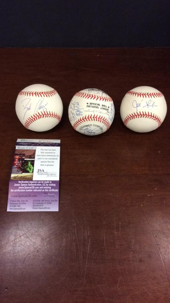 Houston Astro's Bob Abreu signed baseball with