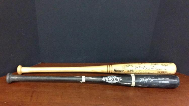 Texas Rangers KC Herren said to be game used bat