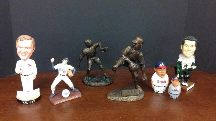 LA Dodgers Orel Hershiser signed porcelain