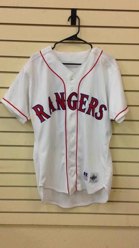 Texas rangers Redus #5 said to be game used