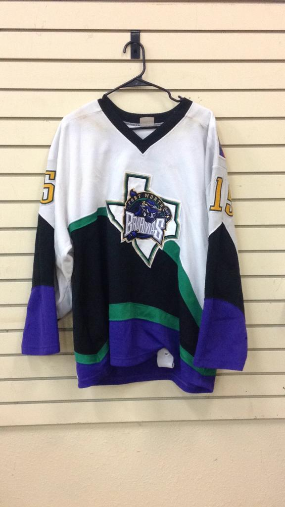 Fort Worth Brahmas # 15 said to be game used
