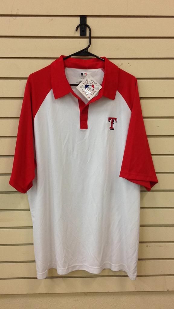 Texas Rangers polo shirt size 2 XL new with tag