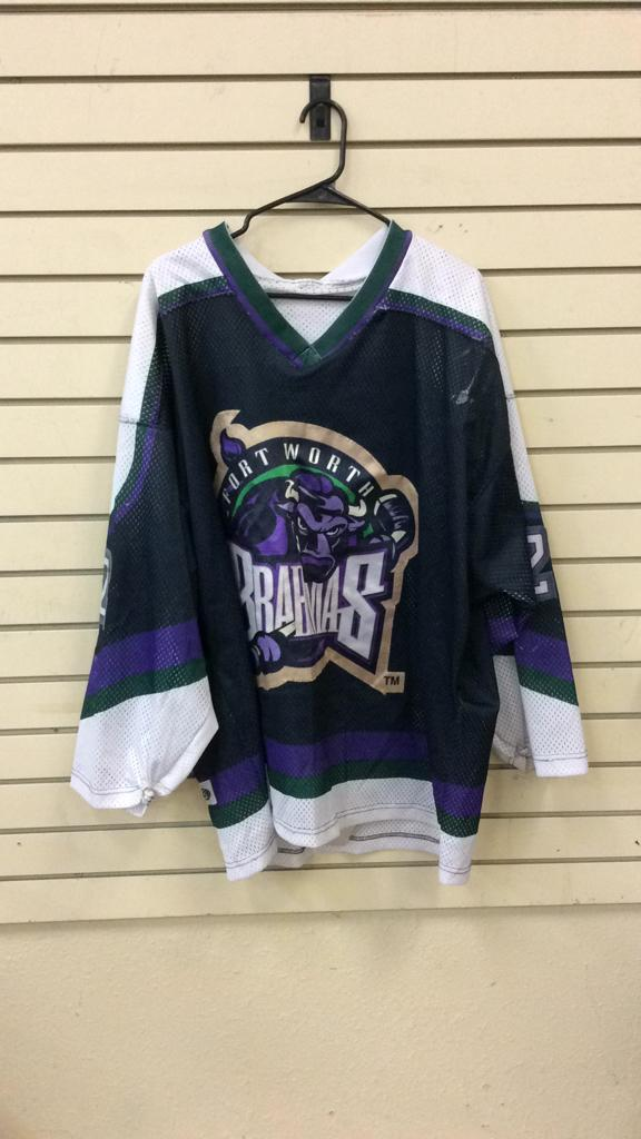 Fort Worth Brahmas Caruso #22 said to be game used