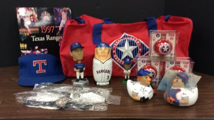 Selection of Texas Rangers Sports