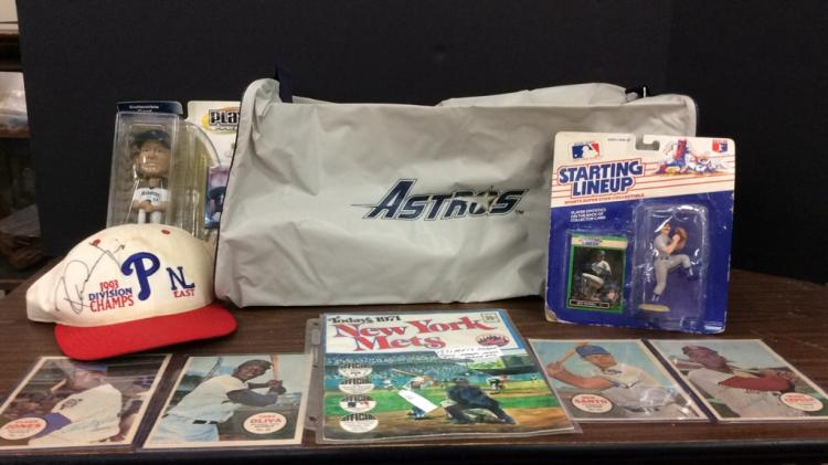 Baseball Memorabilia-Includes Signed 1993