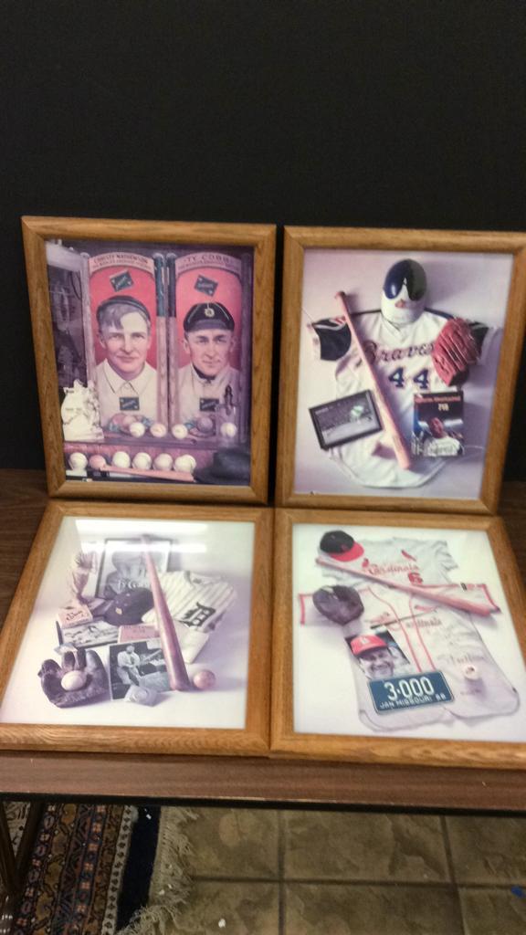Selection of Atlanta Braves Hank Aaron, St. Louis
