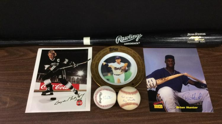 Selection of Sports Memorabilia-Includes Rawlings