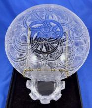 Lalique Bowl and Dish