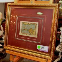 Original 1601 Ortelius Map