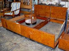 Donald Deskey For Widdicomb Twin Beds, Pr