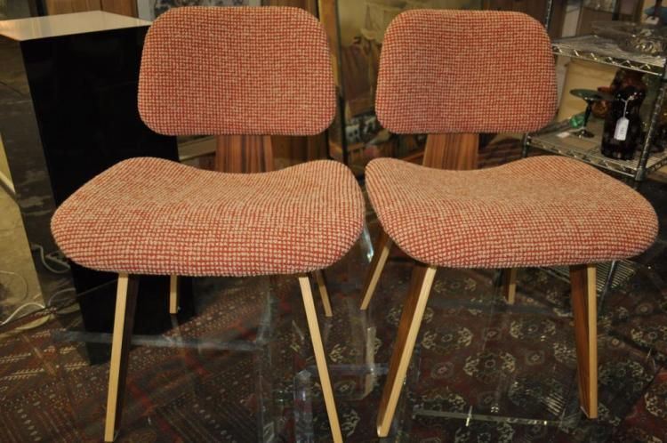 2) Eames Palisander Office Chairs