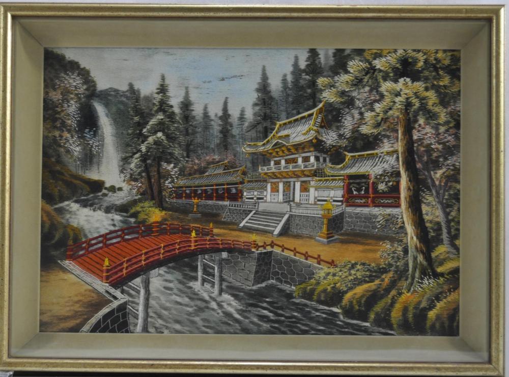 Japanese Silk Art Embroidery