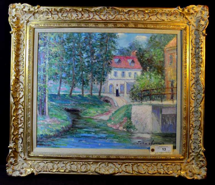 John Clymer Painting