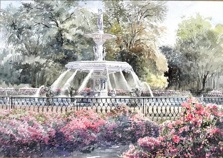 Guy Milligan Watercolor