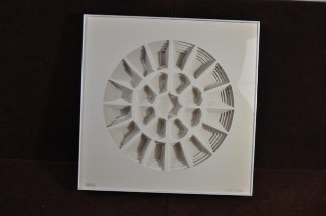 Nancy Miller Cut Paper Art