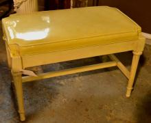 Painted Bed/Vanity Bench
