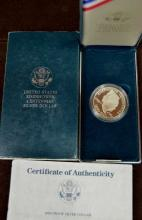 1990-P Proof Eisenhower Silver Dollar