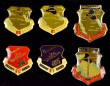 6 Desert Storm / Desert Shield Pins
