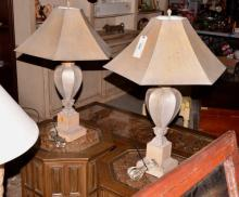 Decorative Baluster Style Table Lamps