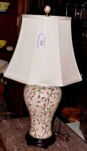 Ceramic Jar Form Table Lamp