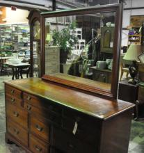Wallace Nutting Drexel Dresser with Mirror