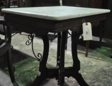 Eastlake Marble Top Parlour Table