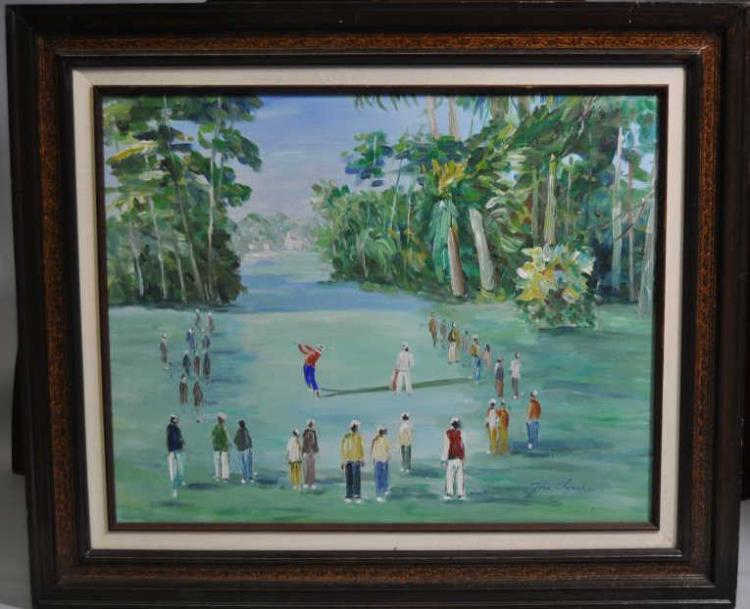 Oil on canvas by John Clymer