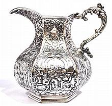 Webster & Son Repousse Pitcher, 1 Piece