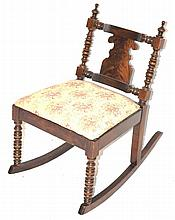 Empire Sewing Rocking Chair