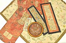 Chinese Embroidered Silk Textiles & Related