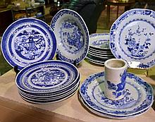 Collection Of Blue & White Porcelain