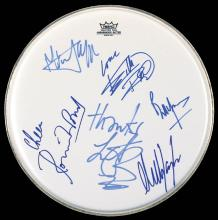 The Rolling Stones - Drumhead Signed with co-signers