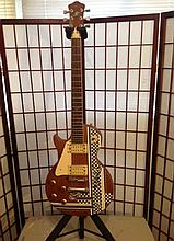 Raven raven West guitar customized fast action strung for right-handed guitar player