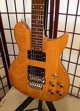 Gitano Floyd Rose left hand guitar strung for right-hander