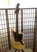 Fender Jaguar guitar custom distressed sell