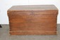37 x 21 EARLY PINE BLANKET CHEST GREAT HINGES